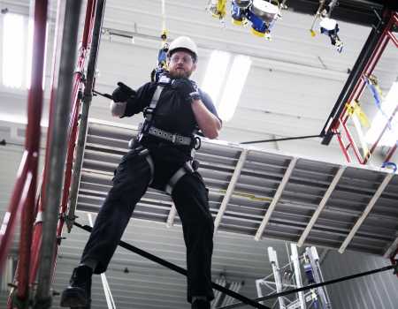 OSHA's 3 lines of defence for fall protection