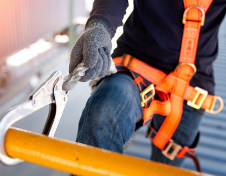Anchorage for fall protection