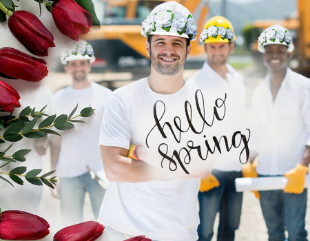 Hello and welcome Spring!
